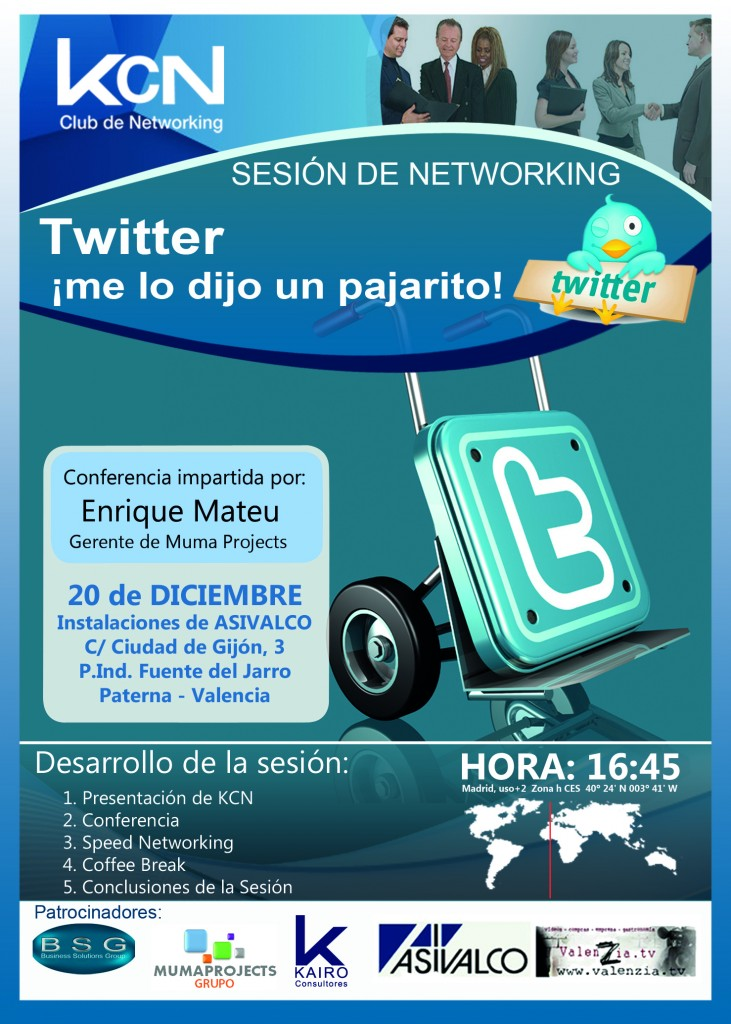 conferencia twitter